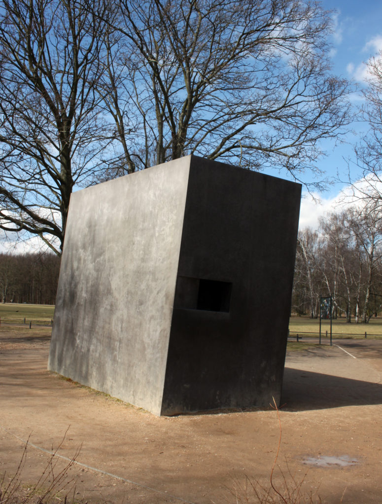 Tiergarten Memorial for homesexuals persecuted under Nazism
