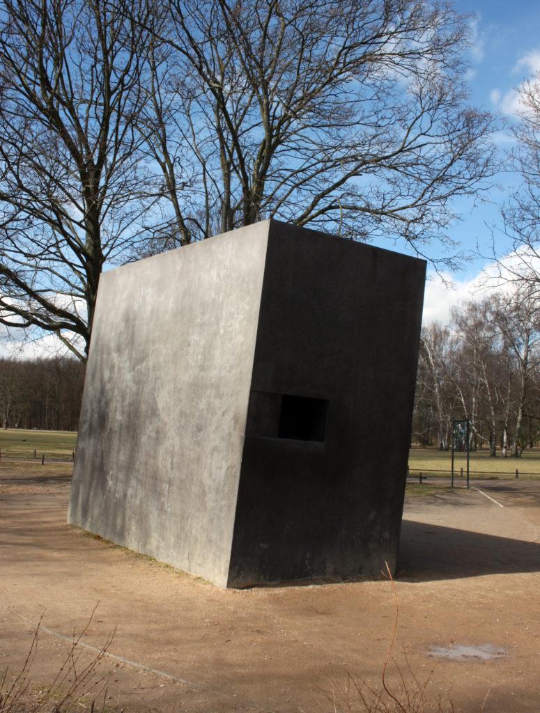 Tiergarten Memorial for homesexuals persecuted under Nazism